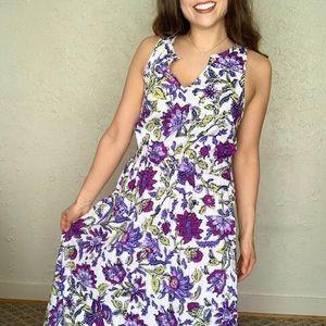 J. Jill Floral Maxi Dress